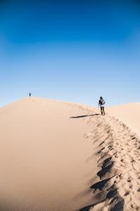 Mesquite Flat Sand Dunes Hill