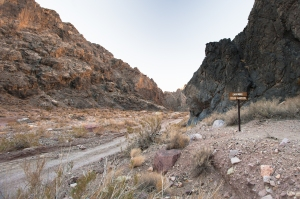 Entering Titus Canyon