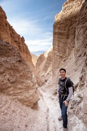Golden Canyon End